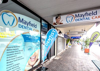 Mayfield Dental Care Front of Dental Clinic Dentist Mayfield