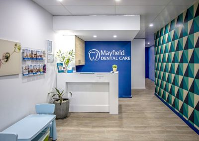 Mayfield Dental Care Reception Area Dentist Mayfield