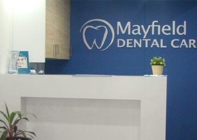 Mayfield Dental Care Reception